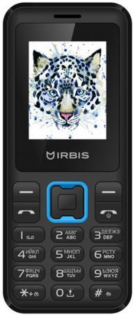 """Телефон Irbis SF50 черный голубой 1.77"""" 32 Мб"""