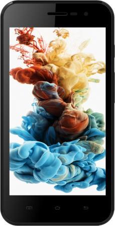 Смартфон Irbis SP455 черный 4.5 8 Гб LTE Wi-Fi GPS 3G смартфон irbis sp21 белый sp21w