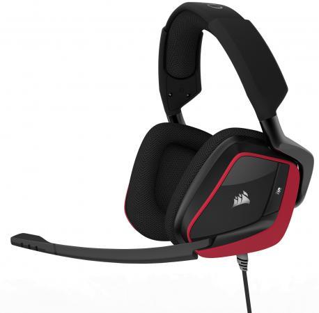 цена на Игровая гарнитура проводная Corsair Gaming Gaming VOID PRO Surround черный красный CA-9011157-EU