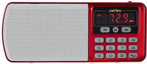 цена на Радиоприемник Perfeo Егерь FM+ красный i120-RED