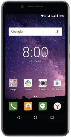 Смартфон Philips S327 синий 5.5 8 Гб LTE Wi-Fi GPS 3G 4G смартфон philips s396 8 гб черный