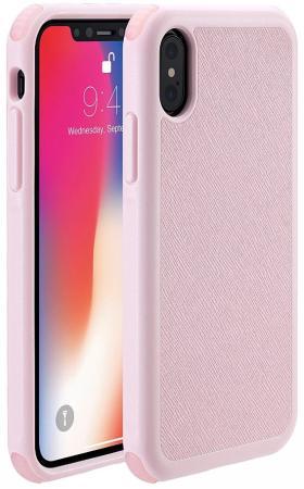 """все цены на Накладка Just Mobile """"Quattro Air"""" для iPhone X розовый PC-388PK онлайн"""