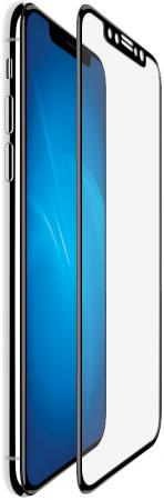 Защитное стекло ударопрочное DF iColor-13 (black) для iPhone X 0.33 мм двусторонняя доска для рисования play smart доска знаний a553 h27027