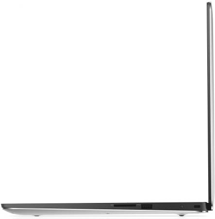 "Ультрабук DELL XPS 15 15.6"" 1920x1080 Intel Core i5-7300HQ 1 Tb 128 Gb 8Gb Wi-Fi nVidia GeForce GTX 1050 4096 Мб серебристый Windows 10 Professional"