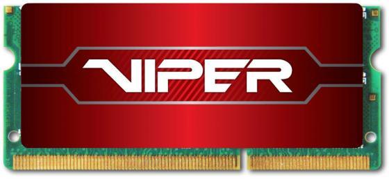 Оперативная память для ноутбука 8Gb (1x8Gb) PC3-22400 2800MHz DDR4 SO-DIMM CL18 Patriot PV48G280C8S