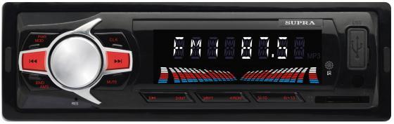 Автомагнитола Supra SFD-47U USB MP3 FM 1DIN 4x40Вт черный автомагнитола supra sfd 47u usb mp3 fm 1din 4x40вт черный
