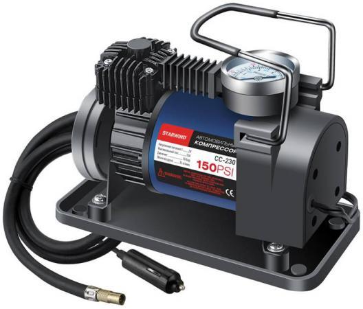 Автомобильный компрессор Starwind CC-260 автомобильный компрессор starwind cc 280 35л мин шланг 3м