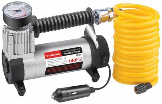 Автомобильный компрессор Starwind CC-280 автомобильный компрессор starwind cc 100 15л мин шланг 0 45м