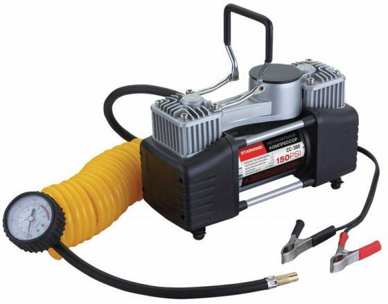 Автомобильный компрессор Starwind CC-300 автомобильный компрессор starwind cc 300