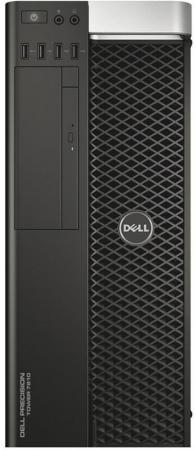 цена на Системный блок DELL Precision T7810 MT 2xE5-2620v4 2.1GHz 32Gb 2Tb 256Gb SSD DVD-RW Win7Pro Win10Pro клавиатура мышь черный 7810-4575