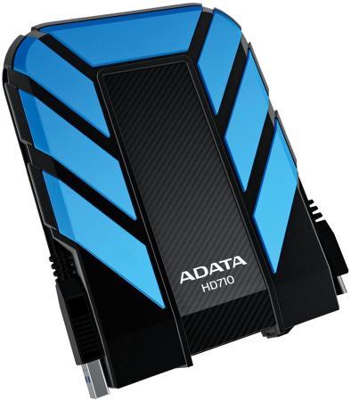 Внешний жесткий диск 2.5 USB3.0 2Tb Adata HD710 AHD710P-2TU31-CBL голубой внешний жесткий диск 2 5 usb3 0 2tb adata hd710 ahd710p 2tu31 cbl голубой