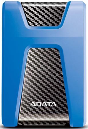 "Внешний жесткий диск 2.5"" USB3.1 2Tb Adata HD650 AHD650-2TU31-CBL синий цена и фото"