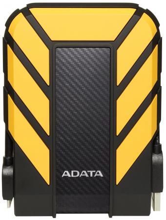 Внешний жесткий диск 2.5 USB3.1 2Tb Adata HD710P AHD710P-2TU31-CYL желтый внешний жесткий диск lacie stfr2000800 2tb rugged mini usb c 2 5