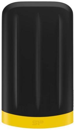 Внешний жесткий диск 2.5 USB3.0 1 Tb Silicon Power A65 Armor SP010TBPHDA65S3K черный hdd silicon power armor a65 2tb sp020tbphda65s3k black