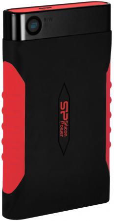 """все цены на Внешний жесткий диск 2.5"""" USB3.0 500 Gb Silicon Power A15 Armor SP500GBPHDA15S3L черный/красный онлайн"""