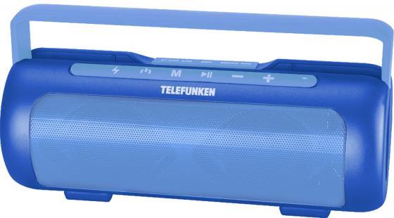 Магнитола Telefunken TF-PS1231B синий магнитола telefunken tf srp3470b красный