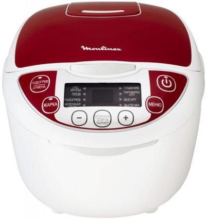 Мультиварка Moulinex MK705132 1200 Вт 4.5 л белый красный тёрка moulinex m3000302
