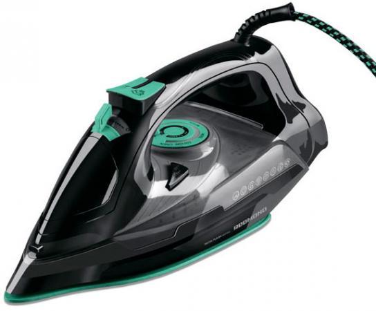 Утюг Redmond RI-C252 2200Вт чёрный зелёный утюг redmond ri c244 2200вт чёрный мятный