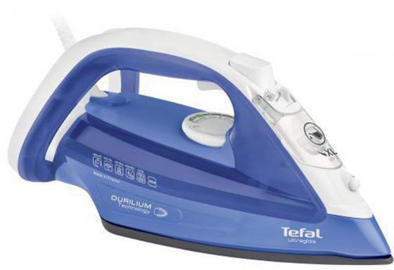 Утюг Tefal FV4922E0 2400Вт синий tefal gv8963e0
