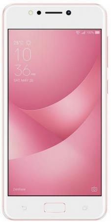Смартфон ASUS Zenfone 4 Max ZC520KL розовый 5.2 16 Гб LTE Wi-Fi GPS 3G 90AX00H3-M00400 смартфон asus zenfone zoom 4g 128 gb