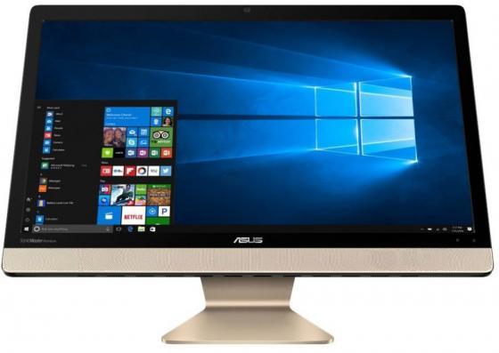 Моноблок 21.5 ASUS V221ICUK-BA122T 1920 x 1080 Intel Core i5-7200U 4Gb 1 Tb Intel HD Graphics 620 Windows 10 черный 90PT01U1-M03630 моноблок asus zn220icgk ra040t 90pt01n1 m03090 90pt01n1 m03090