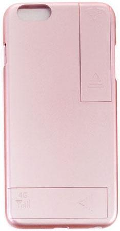 Накладка Gmini GM-AC-IP6RG для iPhone 6 iPhone 6S розовое золото для улучшения качества 4G и Wi-Fi сигнала gumai silky case for iphone 6 6s black