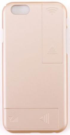 лучшая цена Чехол с дополнительными антеннами Gmini GM-AC-IP6LG, для iPhone 6/6S, для улучшения качества 4G и Wi-Fi сигнала, Золотой