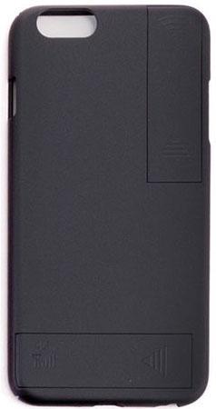 Накладка Gmini GM-AC-IP6PBK для iPhone 6S Plus iPhone 6 Plus чёрный для улучшения качества 4G и Wi-Fi сигнала gumai silky case for iphone 6 6s black