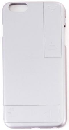 Чехол с дополнительными антеннами Gmini GM-AC-IP6PSR, для iPhone 6 Plus/6S Plus, для улучшения качества 4G и Wi-Fi сигнала, Серебристый чехол с дополнительными антеннами gmini gm ac ip6lg для iphone 6 6s улучшения качества 4g и wi fi сигнала золотой