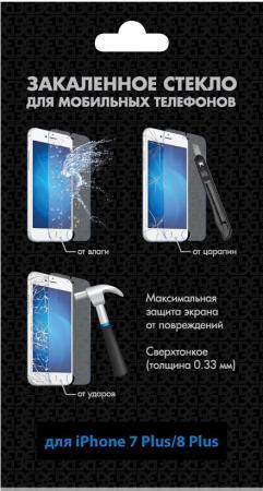 Защитное стекло DF iSteel-19 для iPhone 7 Plus iPhone 8 Plus 0.33 мм аксессуар закаленное стекло df isteel 06 для iphone 6