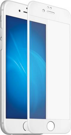 Защитное стекло 3D DF iColor-11, белая рамка для iPhone 7 iPhone 8 0.33 мм белая рамка DFiColor-11(white) 0 7 мм ультра тонкий тонкий алюминиевый металлический бампер рамка чехол для iphone 5 5с