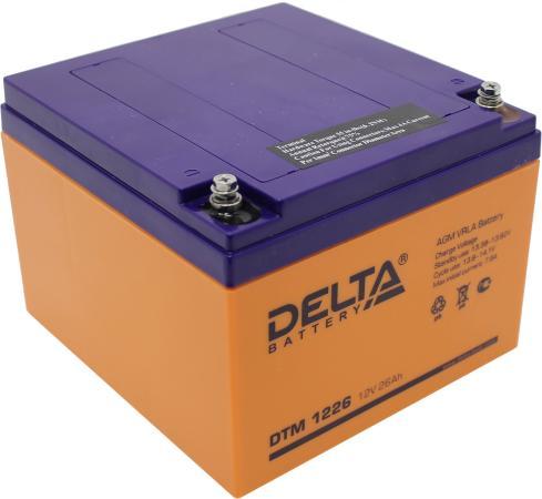 цена на Батарея Delta DTM 1226 26Ач 12B