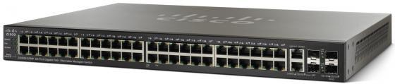 Коммутатор Cisco SG500-52MP управляемый 48 портов 10/100/1000Mbps 2xFSP SG500-52MP-K9-G5 cisco cisco air cap702w r k9 белый 300мбит с 5 2 4