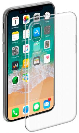 Чехол Deppa Gel Case для iPhone X прозрачный 85335 чехол deppa gel case 85335 для apple iphone x xs прозрачный