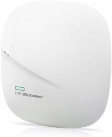 Точка доступа HP OC20 Access Point 802.11aс 867Mbps 5 ГГц 2.4 ГГц 1xLAN белый JZ074A