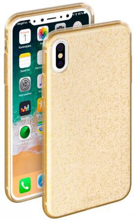 Накладка Deppa Chic Case для iPhone X золотой 85340