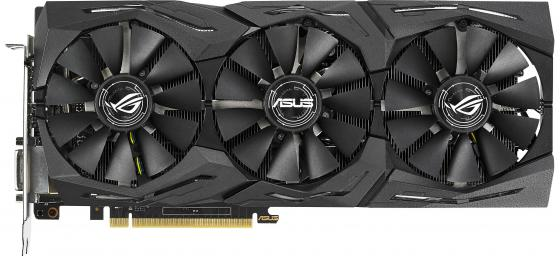 Видеокарта ASUS GeForce GTX 1070 Ti ROG-STRIX-GTX1070TI-A8G-GAMING PCI-E 8192Mb 256 Bit Retail