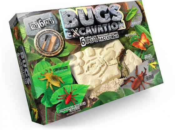 Набор для проведения раскопок ДАНКО-ТОЙС Bugs Excavation - Насекомые (жуки  пауки) BEX-01-03