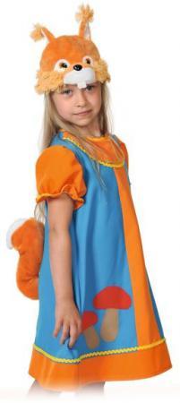 Карнавальный костюм Карнавалофф Белочка Умелочка 8019 детский костюм малышки золушки 24