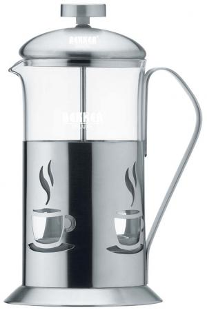 Чайник заварочный Bekker De Luxe стальной 0.6 л металл/стекло BK-362 электрочайник de longhi kbi2000 bk