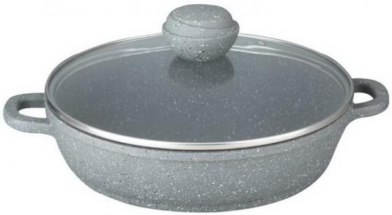 Сотейник Bekker BK-3801 24 см 2.4 л алюминий сковорода bekker bk 3702 24 см 1 7 л алюминий
