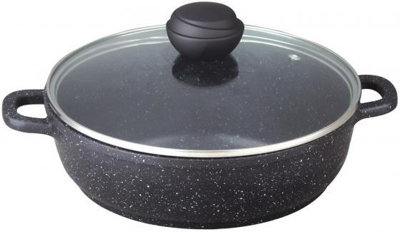 Сотейник Bekker BK-3820 24 см 2.4 л алюминий сковорода bekker bk 3702 24 см 1 7 л алюминий