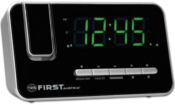 Часы с радиоприёмником First FA-2421-7 серебристый часы радио first fa 2421 5 black