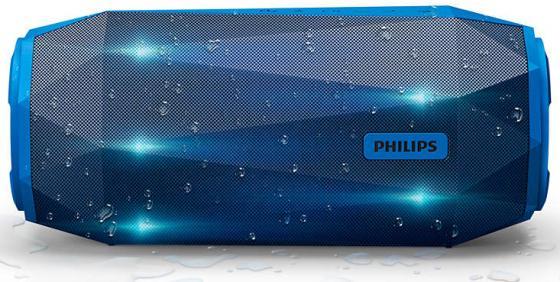 Портативная акустикаPhilips SB500A синий портативная акустика philips bt6000a 12