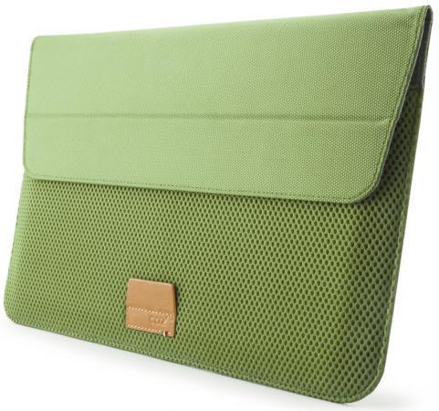 "Чехол для ноутбука MacBook Air 11"" Cozistyle ""Stand Sleeve"" полиэстер зеленый CASS1105"