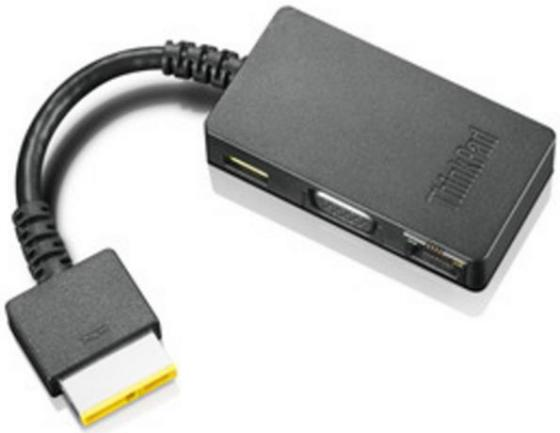 Переходник Lenovo ThinkPad OneLink Adapter to DC+VGA+RJ45 4X90G85927 ekl vga to av rca or ypbpr composite tv converter adapter box