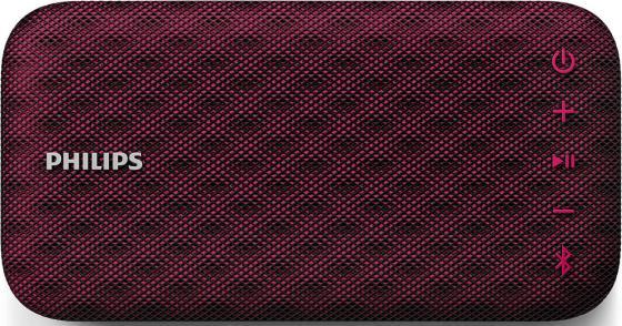 Портативная акустикаPhilips BT3900P красный портативная акустика philips bt6000a 12