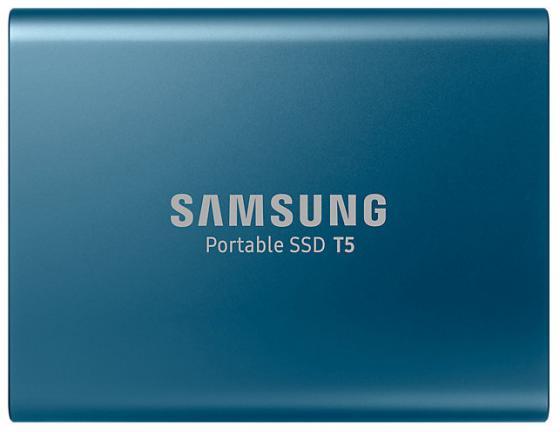 Внешний жесткий диск 1.8 USB3.1 250Gb Samsung T5 синий MU-PA250B/WW