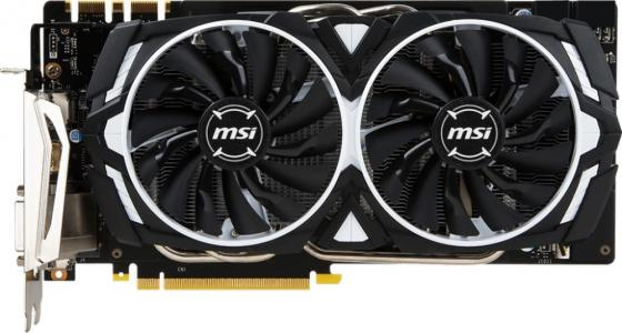 Видеокарта 8192Mb MSI GeForce GTX 1070 Ti ARMOR 8G PCI-E 256bit GDDR5 DVI HDMI DP Retail видеокарта 8192mb msi geforce gtx 1080 gaming x 8g pci e 256bit gddr5x dvi hdmi dp retail
