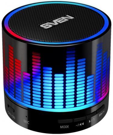купить Портативная акустика Sven PS-47 3Вт Bluetooth черный онлайн